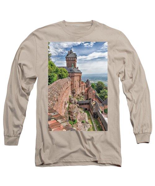 Haut-koenigsbourg Long Sleeve T-Shirt by Alan Toepfer