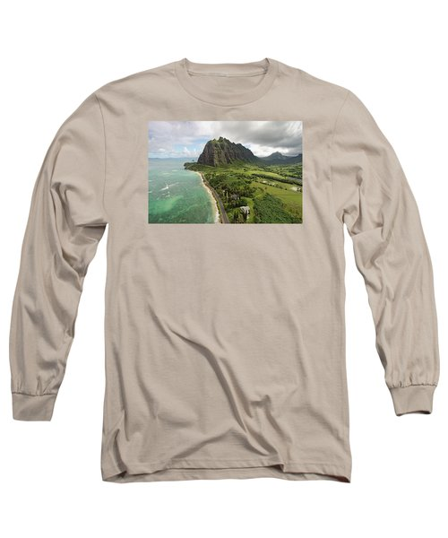 Hawaii Beauty Long Sleeve T-Shirt by James Roemmling