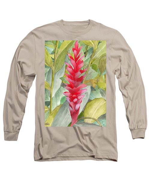 Hawaiian Beauty Long Sleeve T-Shirt