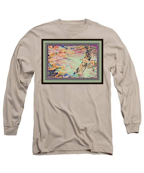 Hawk And Sky Long Sleeve T-Shirt