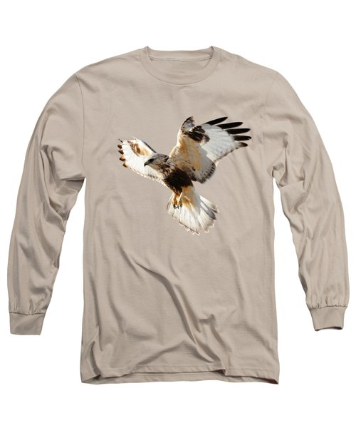 Hawk T-shirt Long Sleeve T-Shirt by Greg Norrell