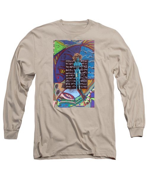 Long Sleeve T-Shirt featuring the painting Hawthorn Herbal Tincture by Clarity Artists