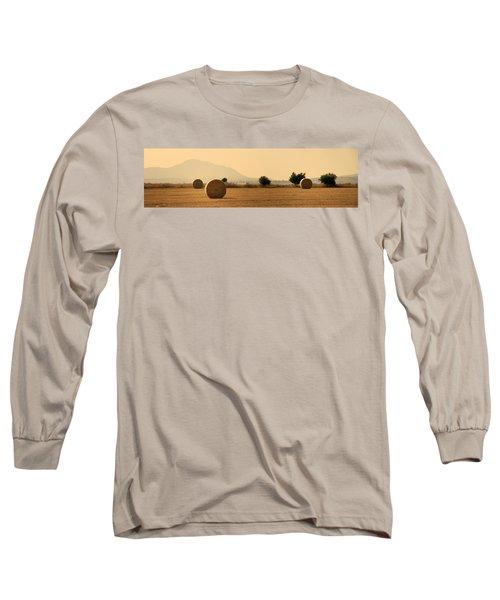 Hay Rolls  Long Sleeve T-Shirt