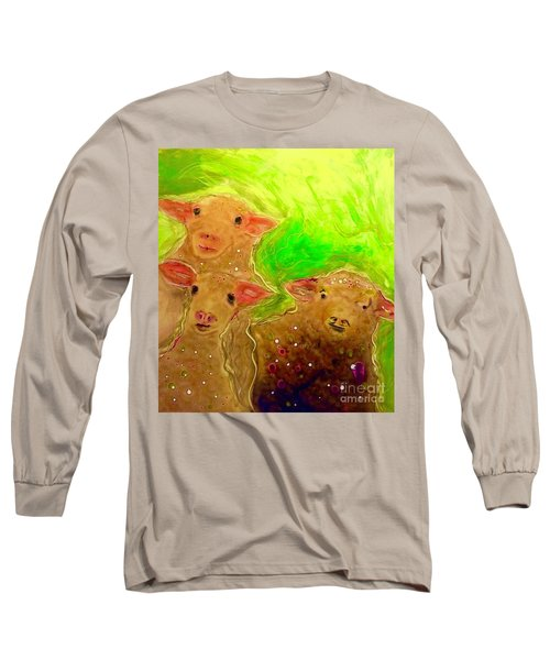 Hay What Dew Ewe Know Long Sleeve T-Shirt