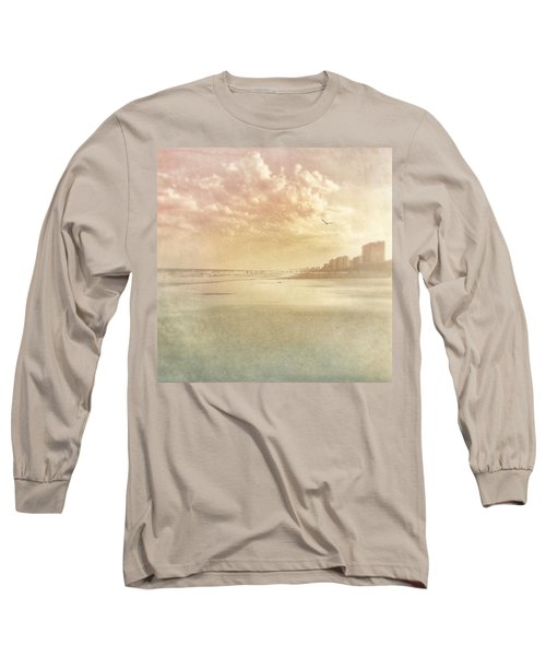 Hazy Day At The Beach Long Sleeve T-Shirt