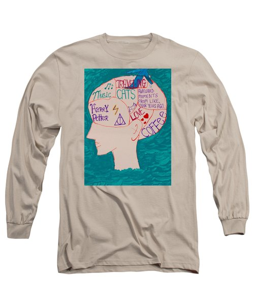 Head In Clouds Long Sleeve T-Shirt by Artists With Autism Inc