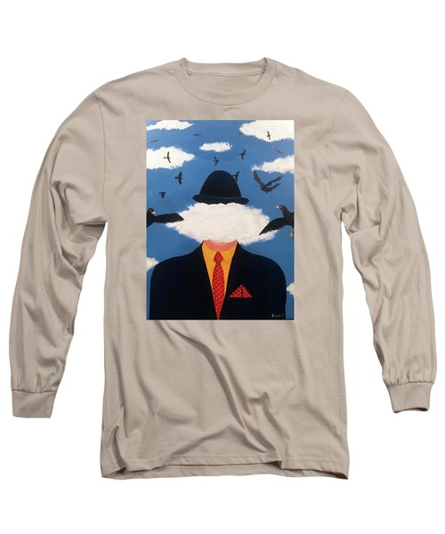 Head In The Cloud Long Sleeve T-Shirt by Thomas Blood