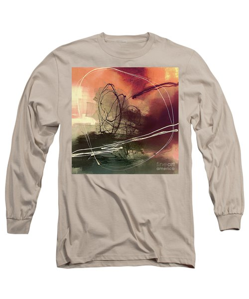 Long Sleeve T-Shirt featuring the painting Head Of Psychology Rose by Tatiana Iliina