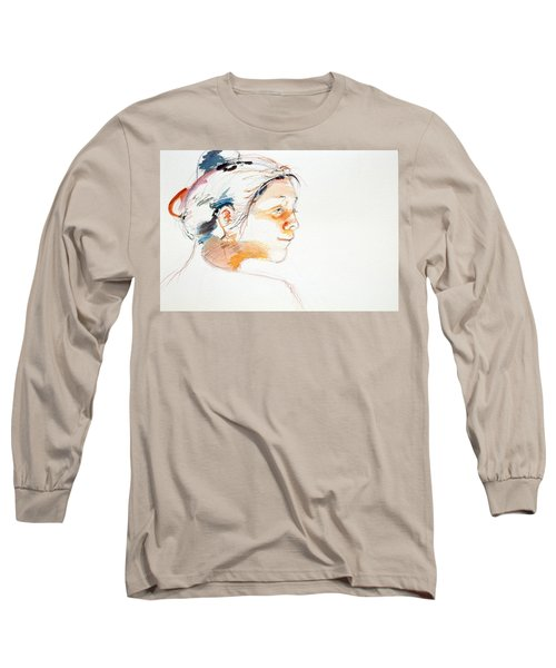 Head Study 9 Long Sleeve T-Shirt