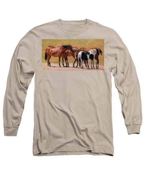 Heads Or Tails Long Sleeve T-Shirt by Bonnie Mason