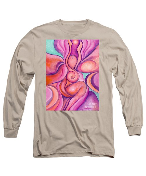 Healing Goddess Long Sleeve T-Shirt
