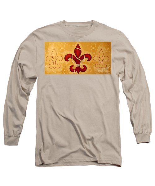 Heart Of New Orleans Long Sleeve T-Shirt