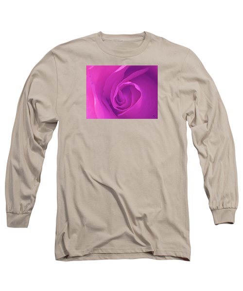 Heart Of The Rose Long Sleeve T-Shirt