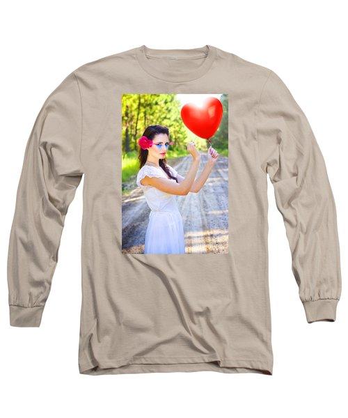 Long Sleeve T-Shirt featuring the photograph Heartache And Heartbreak by Jorgo Photography - Wall Art Gallery