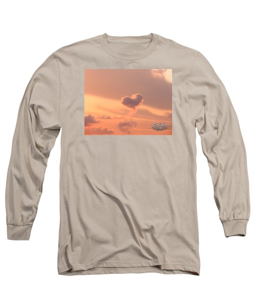 Hearts In The Clouds Long Sleeve T-Shirt by Barbara Tristan
