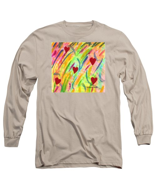 heARTs of Spring Long Sleeve T-Shirt