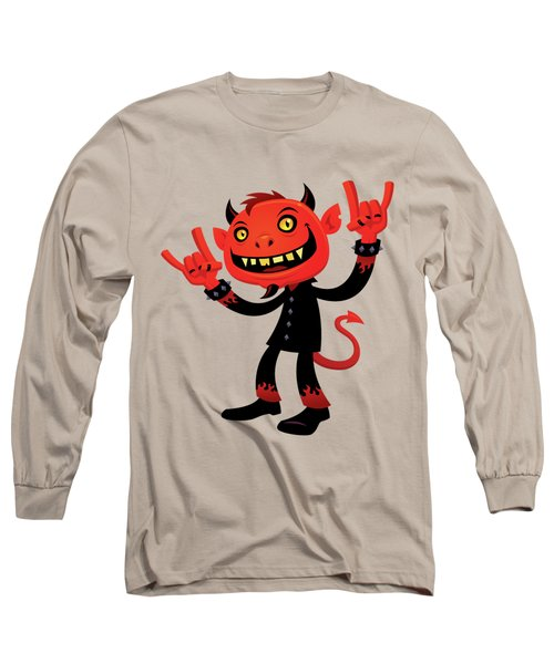 Heavy Metal Devil Long Sleeve T-Shirt
