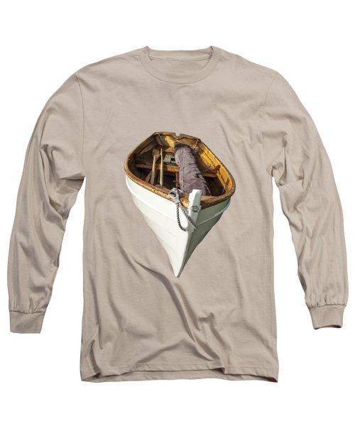 Hebard Sailling Dory Long Sleeve T-Shirt by Daniel Hebard
