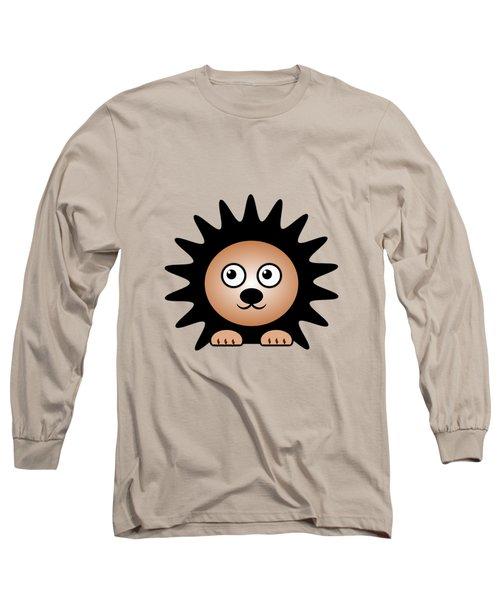 Hedgehog - Animals - Art For Kids Long Sleeve T-Shirt