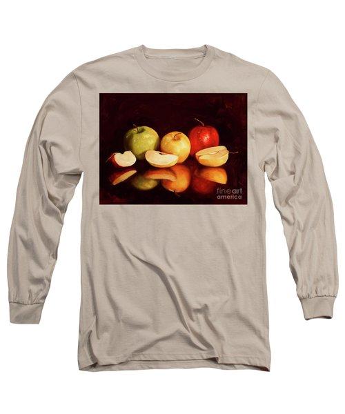 Hein Apples Long Sleeve T-Shirt