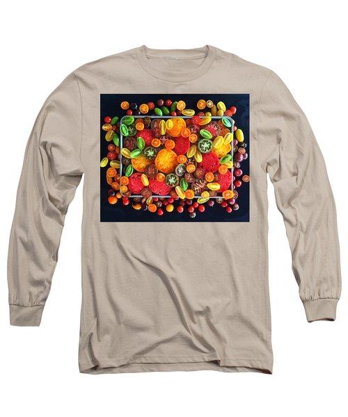 Heirloom Tomato Medley Long Sleeve T-Shirt