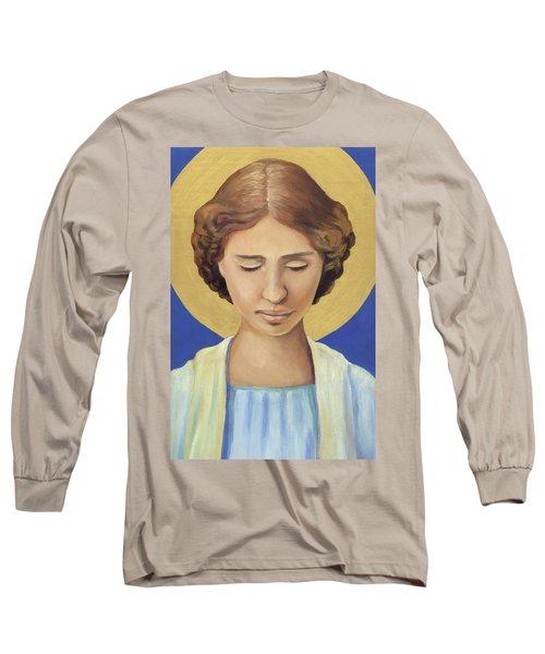 Helen Keller Long Sleeve T-Shirt