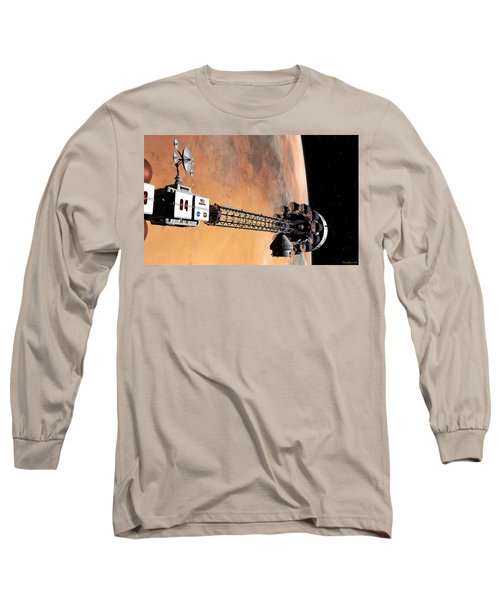 Hello, Huston From Hermes, Do You Read Me Long Sleeve T-Shirt