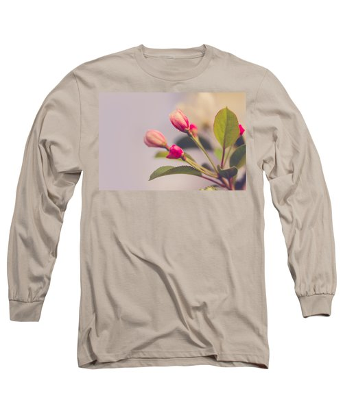 Long Sleeve T-Shirt featuring the photograph Hello Spring by Yvette Van Teeffelen