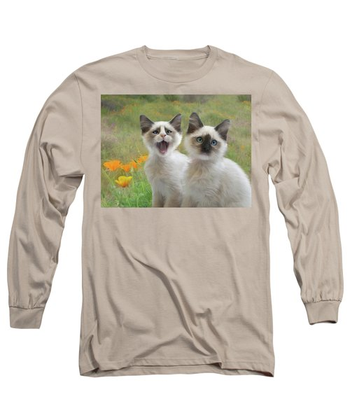 Help  Long Sleeve T-Shirt