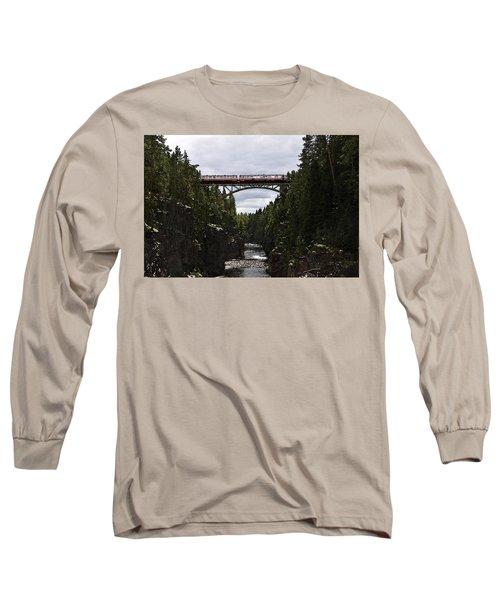 Helvetefallet Dalarna Sweden Long Sleeve T-Shirt