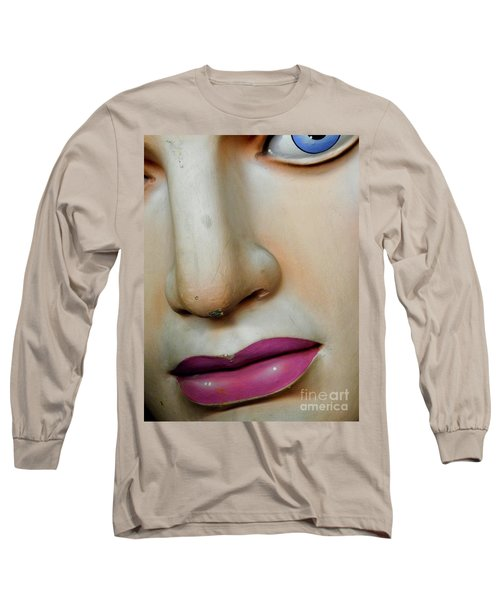 Her Face Long Sleeve T-Shirt by Valerie Reeves
