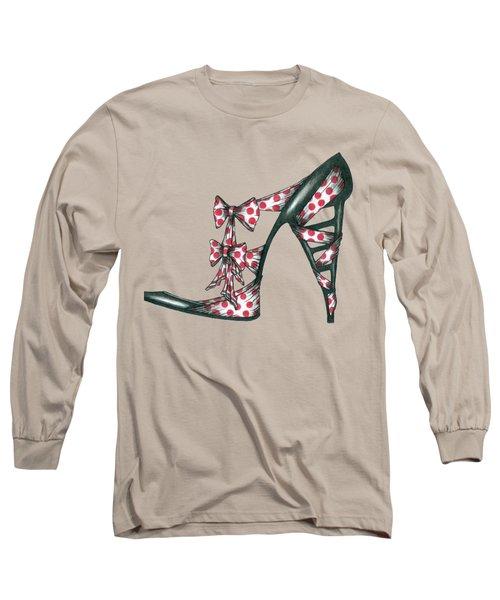 Her Shoe  Long Sleeve T-Shirt
