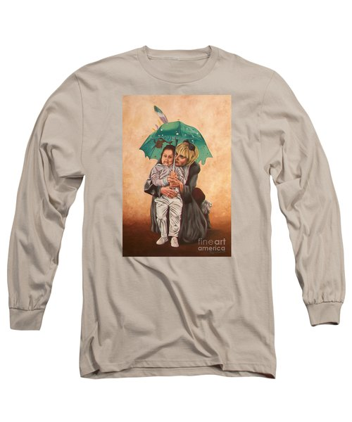 Here Comes The Rain - Aqui Viene La Lluvia Long Sleeve T-Shirt