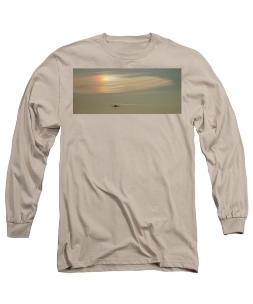 Here We Go Into The Wild Blue Yonder Long Sleeve T-Shirt
