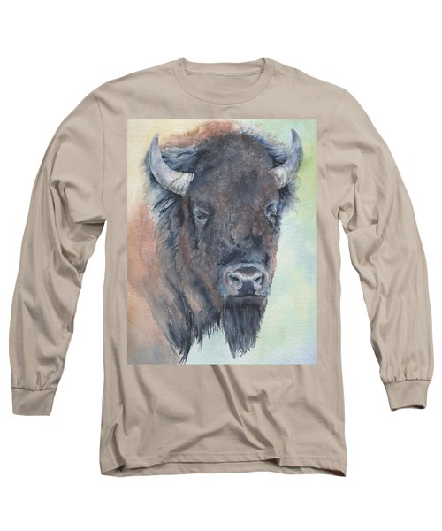 Here's Looking At You - Bison Long Sleeve T-Shirt