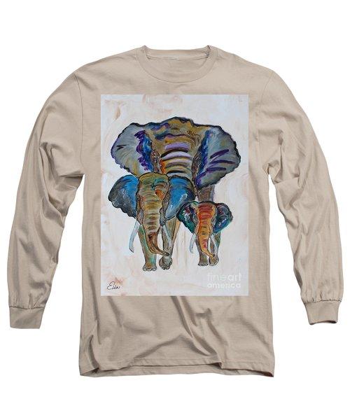 Heritage Walk Long Sleeve T-Shirt by Ella Kaye Dickey