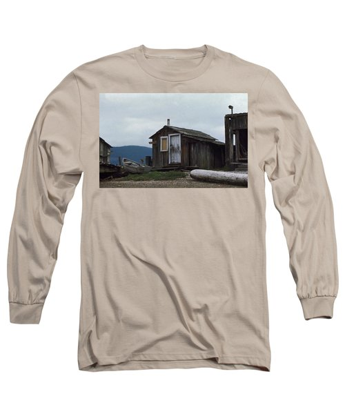 Hermit Long Sleeve T-Shirt by Laurie Stewart
