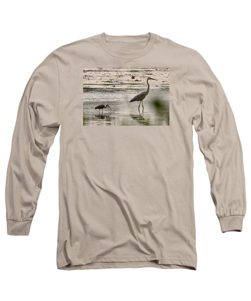 Heron And Ibis Long Sleeve T-Shirt