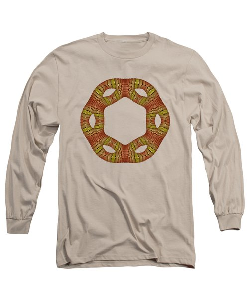 Hexagonyl Tile Long Sleeve T-Shirt