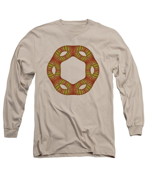 Hexagonyl Tile Long Sleeve T-Shirt