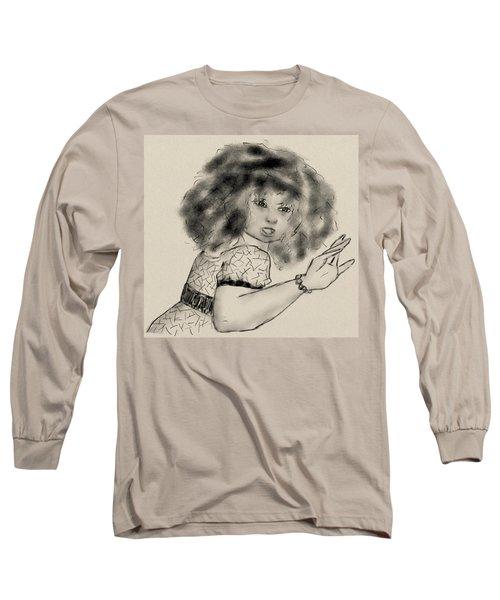 Hey Long Sleeve T-Shirt