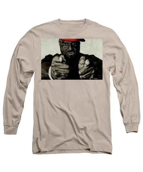 Hey You- Funk Flex Long Sleeve T-Shirt