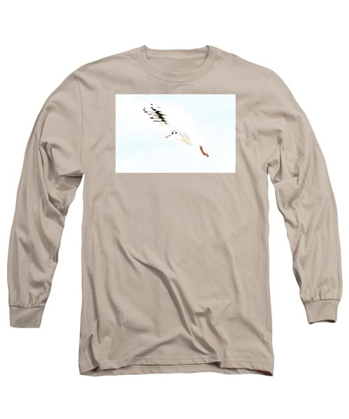Long Sleeve T-Shirt featuring the photograph Hi Fly by Gary Bridger