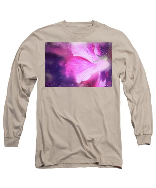 Hibiscus Scatter Long Sleeve T-Shirt