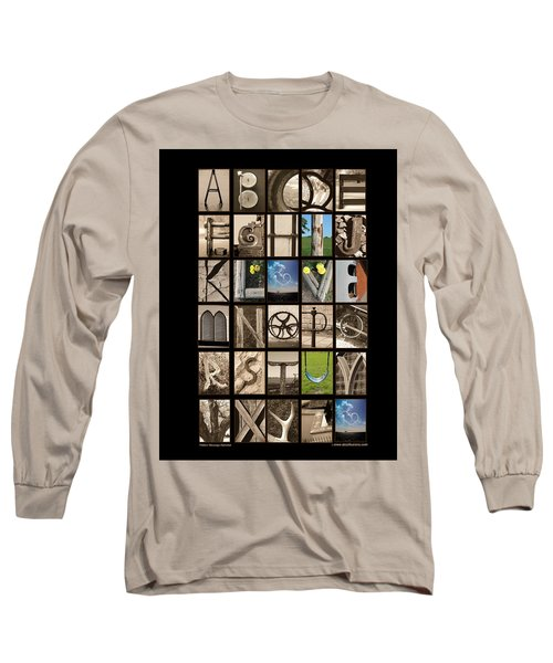 Hidden Message Long Sleeve T-Shirt