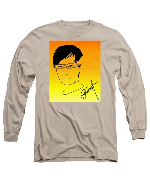 Hideo Kojima Long Sleeve T-Shirt by Kyle West