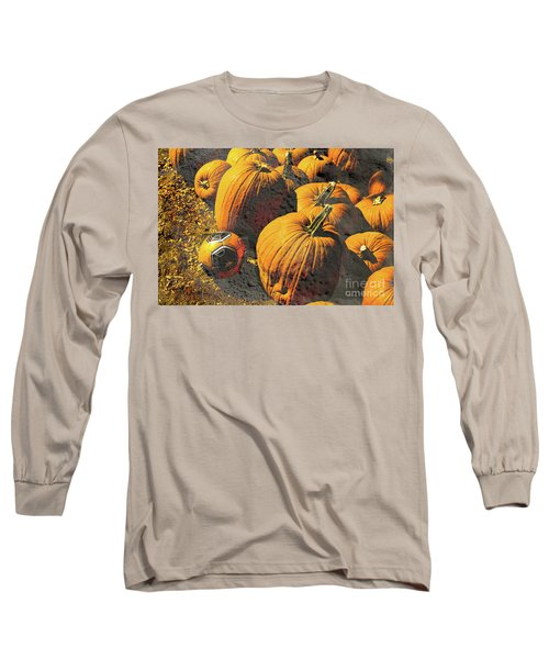 Hiding In Plain Pumpkin Long Sleeve T-Shirt