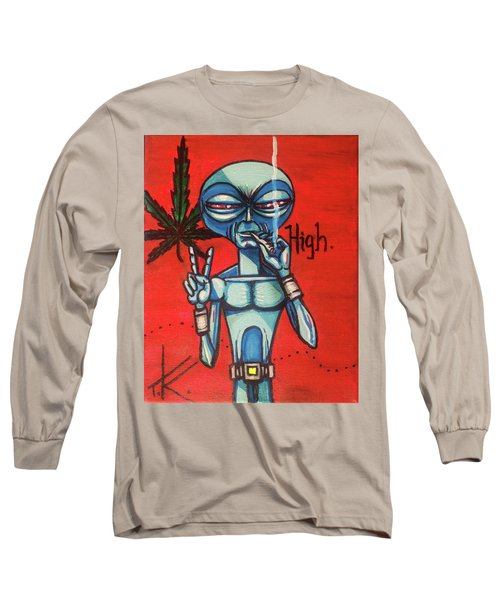 High Alien Long Sleeve T-Shirt