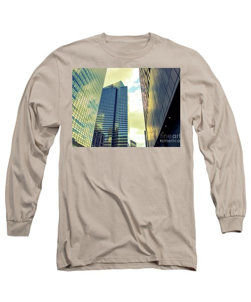 High Rise Reflections Nyc Long Sleeve T-Shirt