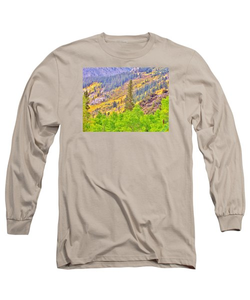 High Sierra Fall Colors Long Sleeve T-Shirt